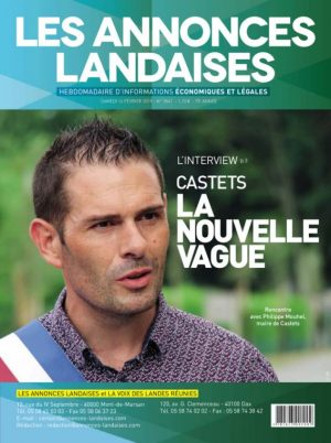 Couverture du journal du 16/02/2019