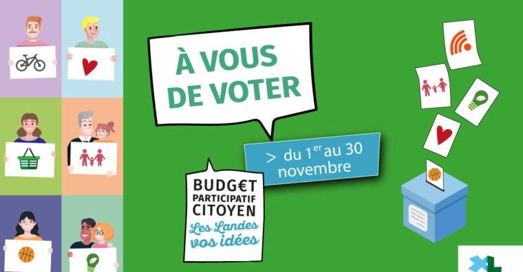 Illustration de l'article Budget participatif citoyen : l'heure du vote