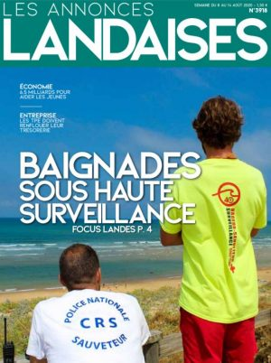 Couverture du journal du 08/08/2020