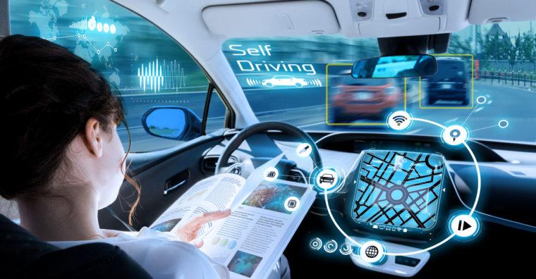 Illustration de l'article L'A63, laboratoire pour la voiture autonome