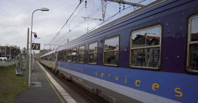Illustration de l'article Mobilités : pour le retour de la « Palombe bleue », train de nuit Paris/Pays basque