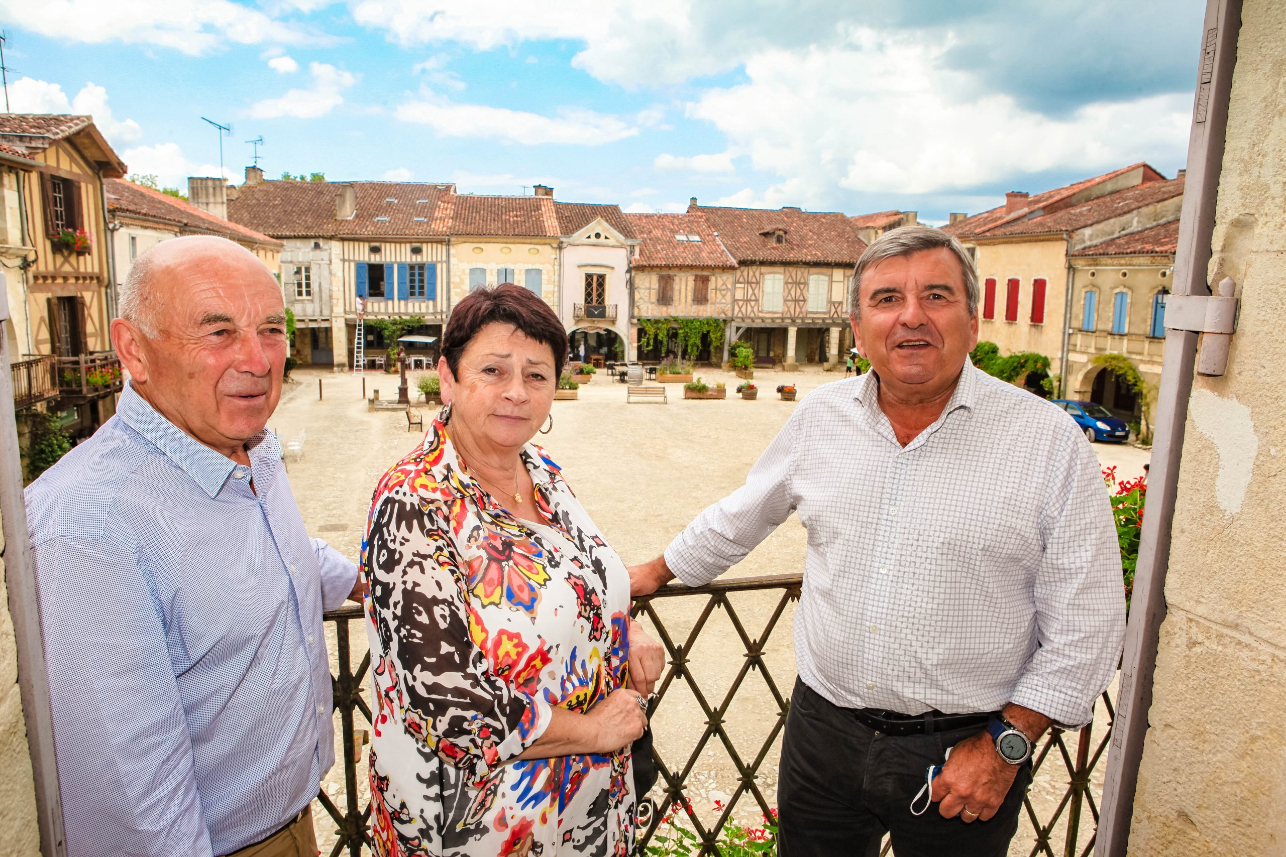 Alain Gaube, Odile Lafitte, Hervé Bouyrie
