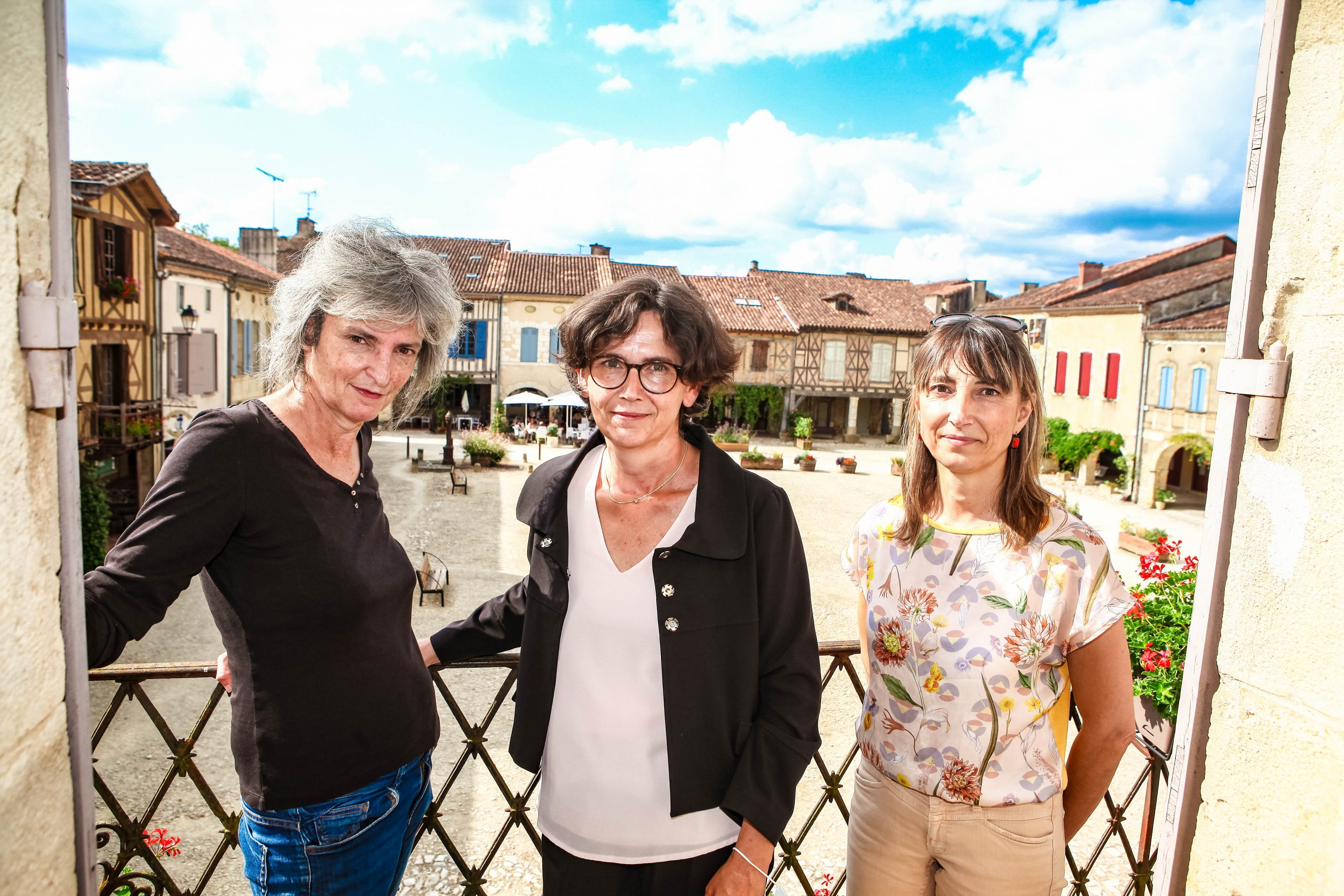 Claire Cazarres, Sandy Causse, Sophie Labassa