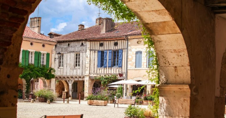 Illustration de l'article Labastide-d'Armagnac « Petite cité de caractère »
